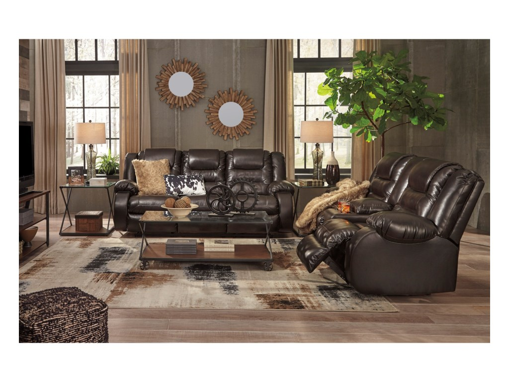 Signature Design by Ashley VacherieReclining Living Room Group