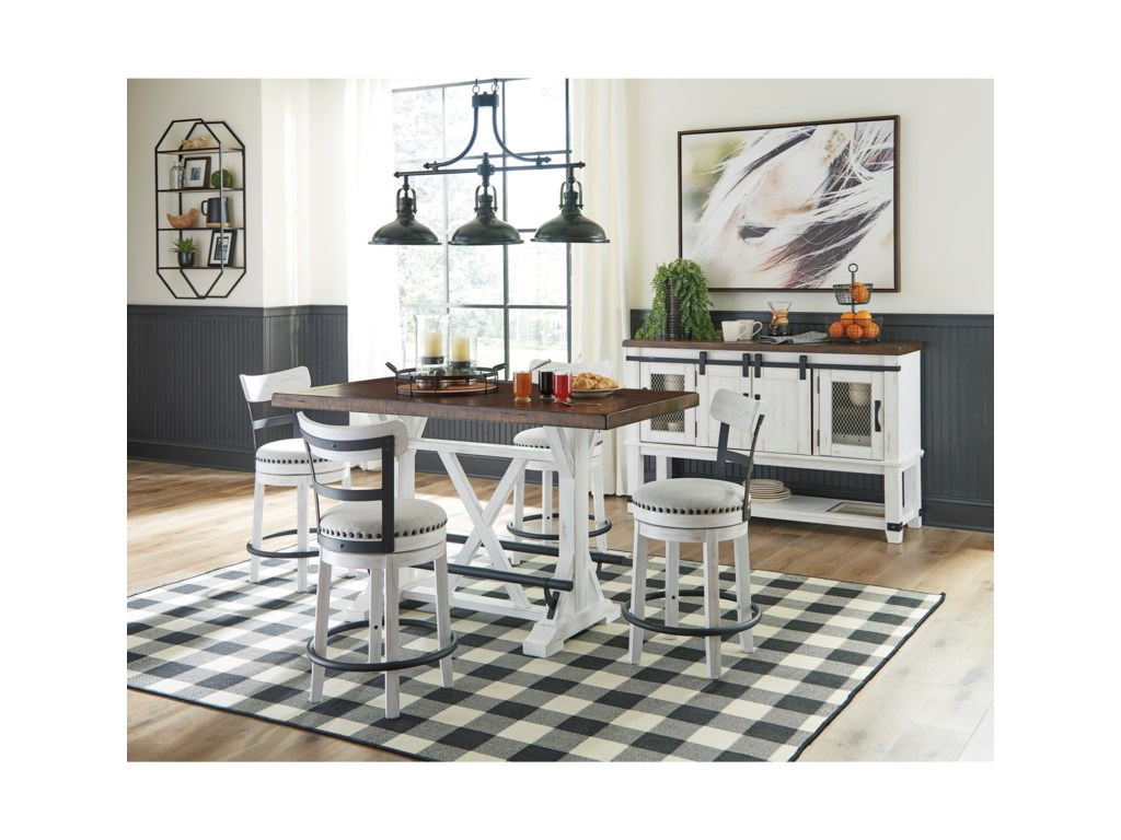 Valebeck Casual Dining Room Group by Signature Design by Ashley at  Furniture and ApplianceMart