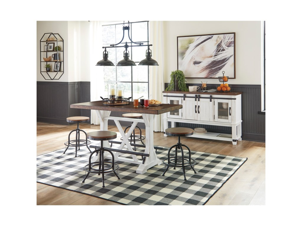 Signature Design by Ashley Valebeck5-Piece Counter Height Dining Set