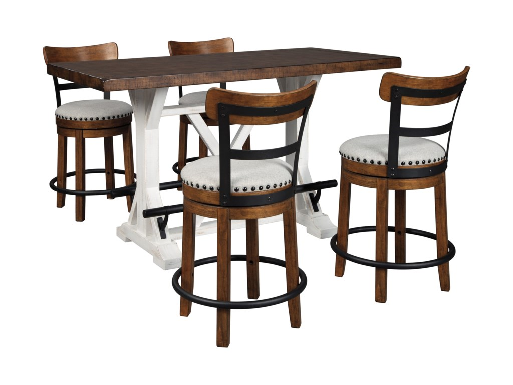 Signature Design by Ashley Valebeck5-Piece Counter Height Table Set