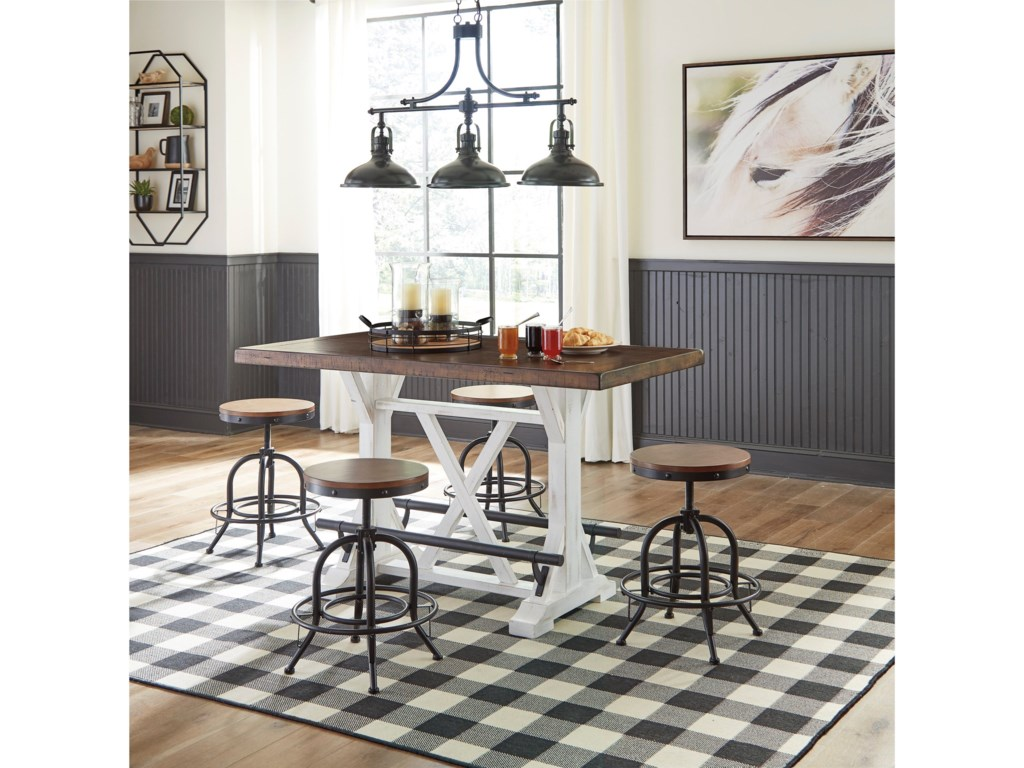 Signature Design by Ashley ValebeckCounter Height Swivel Barstool