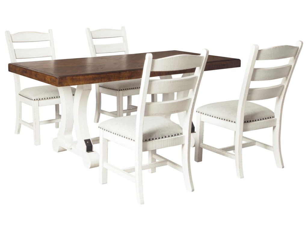 Signature Design by Ashley Valebeck5-Piece Table and Chair Set