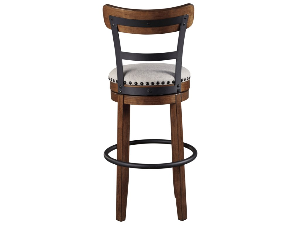 Signature Design by Ashley ValebeckUpholstered Swivel Barstool