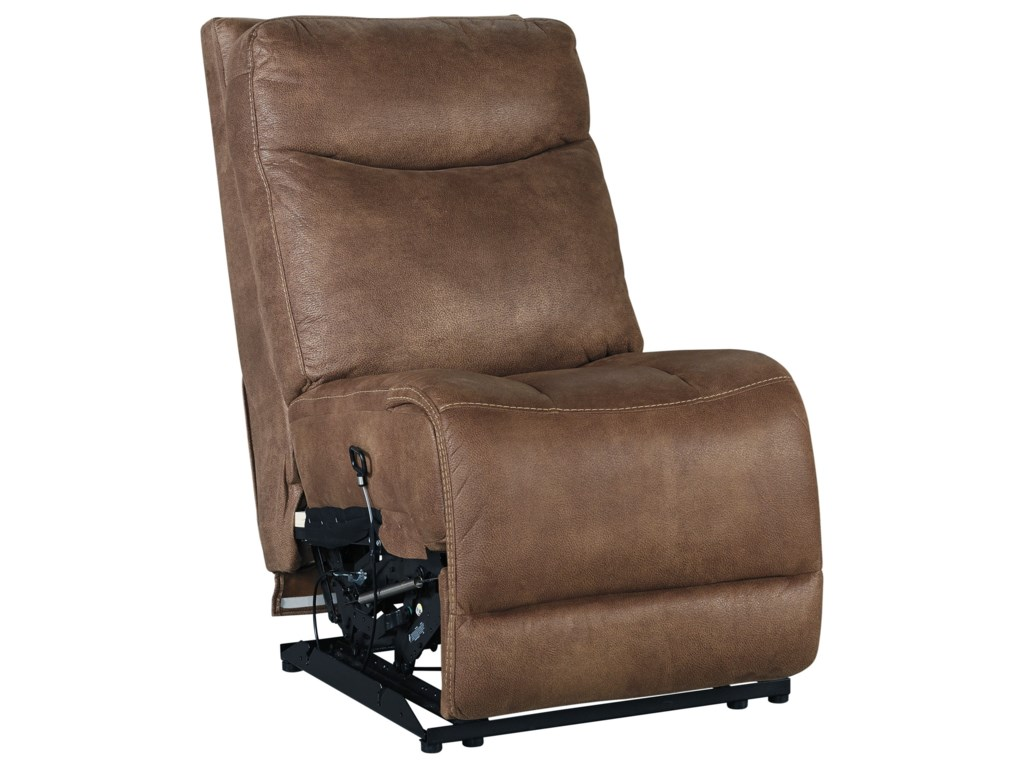 Detail of Armless Recliner