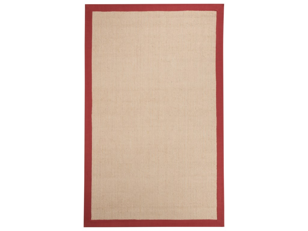 Benchcraft Casual Area RugsEbenezer Red Medium Rug