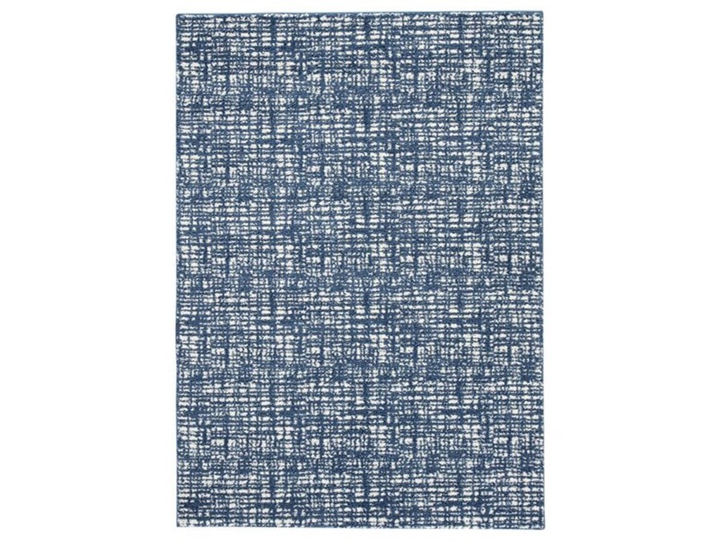 Signature Design by Ashley Casual Area RugsNorris Blue/White Large Rug