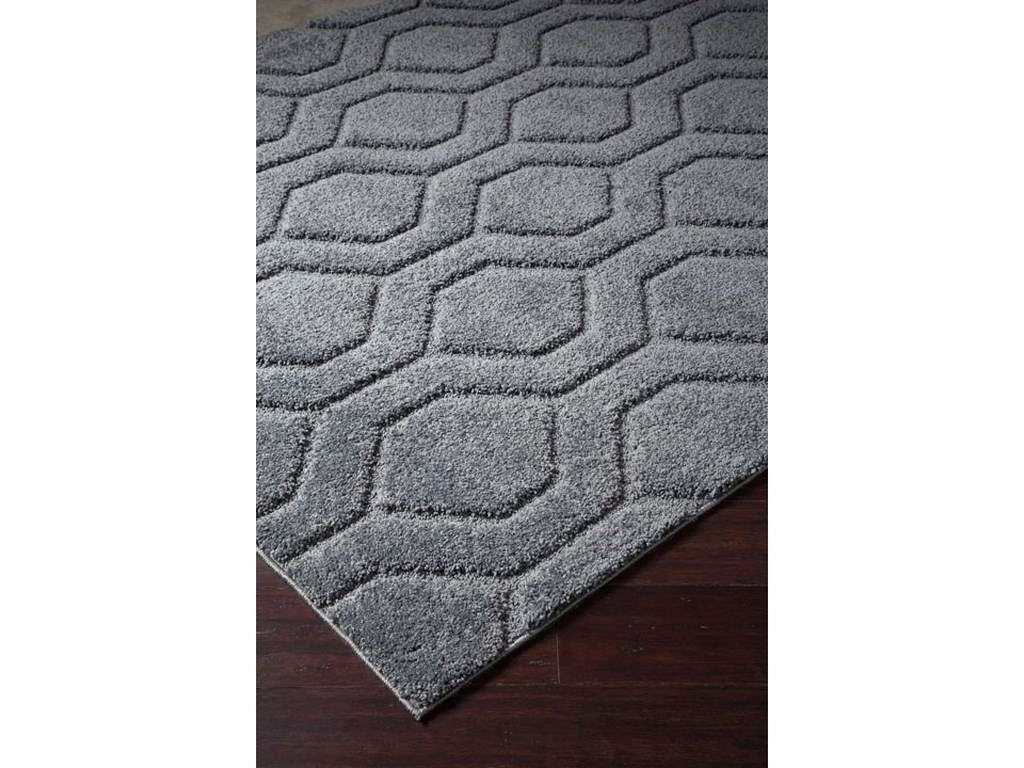 Trendz Casual Area RugsMatthew Titanium Medium Rug