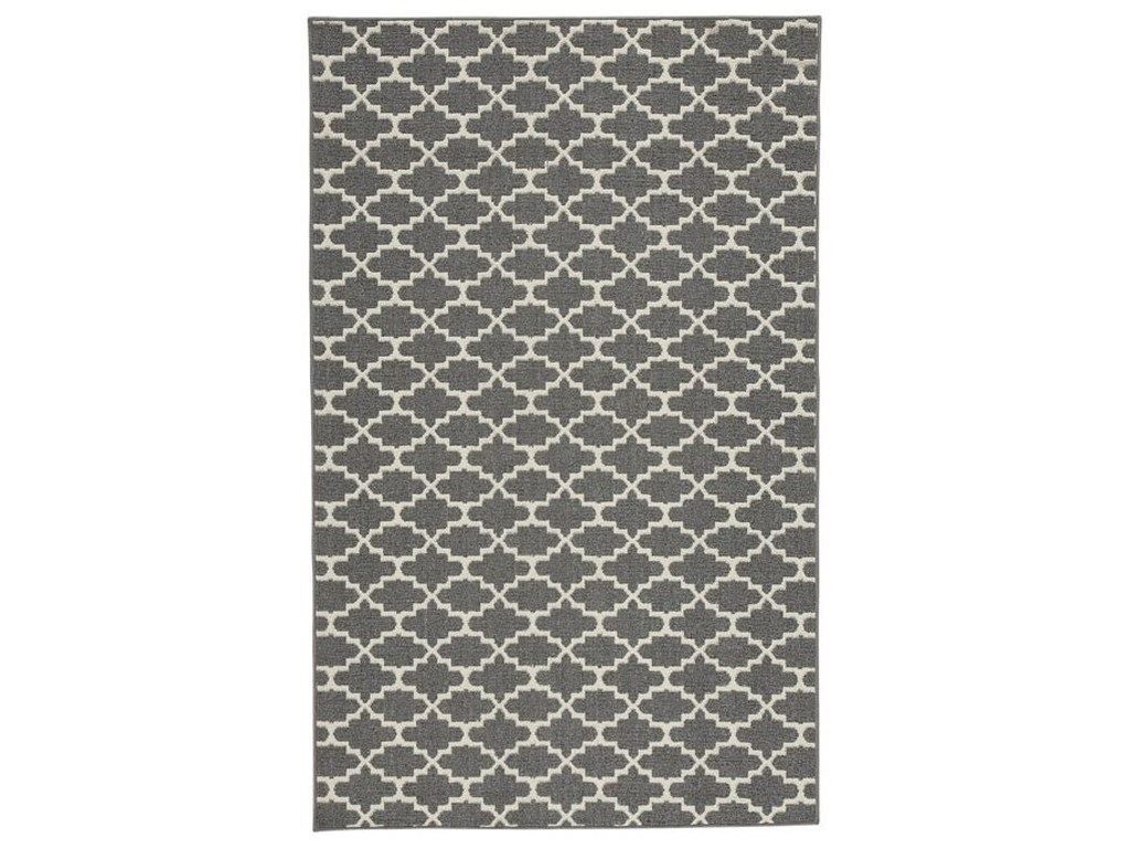 Benchcraft Casual Area RugsNathanael Gray/Tan Medium Rug