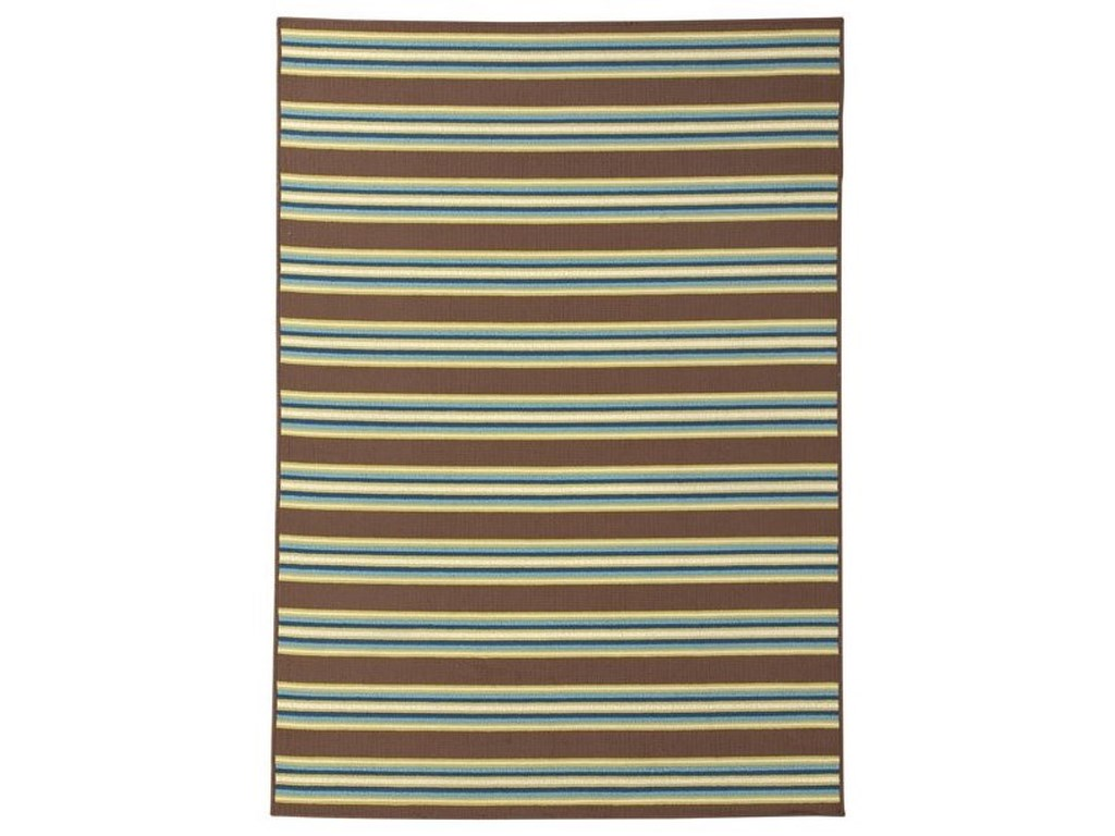 Signature Design by Ashley Casual Area RugsMatchy Lane Brown/Blue/Green Large Rug