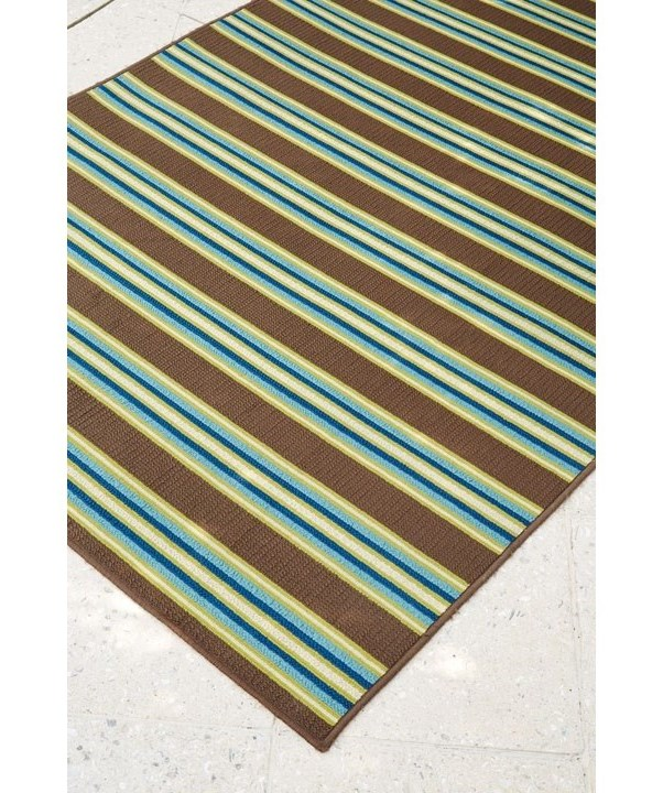 Signature Design by Ashley Casual Area RugsMatchy Lane Brown/Blue/Green Medium Rug