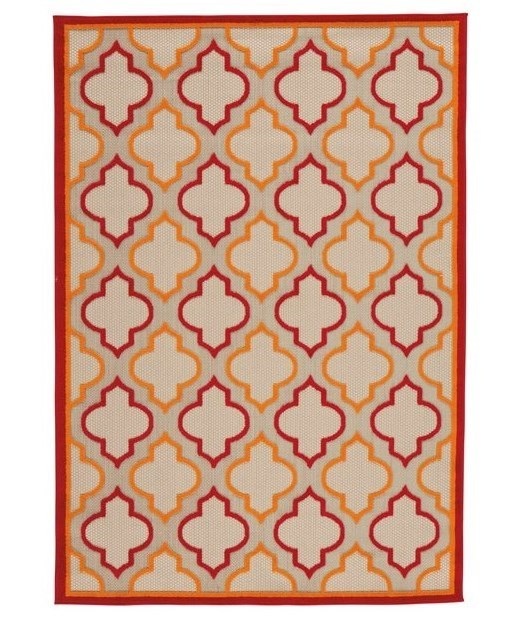 Benchcraft Casual Area RugsJebediah Red/Orange Large Rug