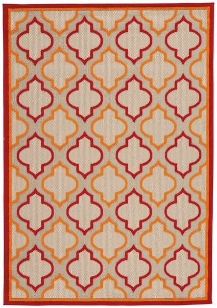 Signature Design by Ashley Casual Area Rugs Jebediah Red/Orange Large Rug