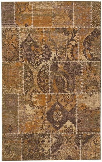 Signature Design by Ashley Casual Area Rugs Stevensville Beige/Brown Medium Rug