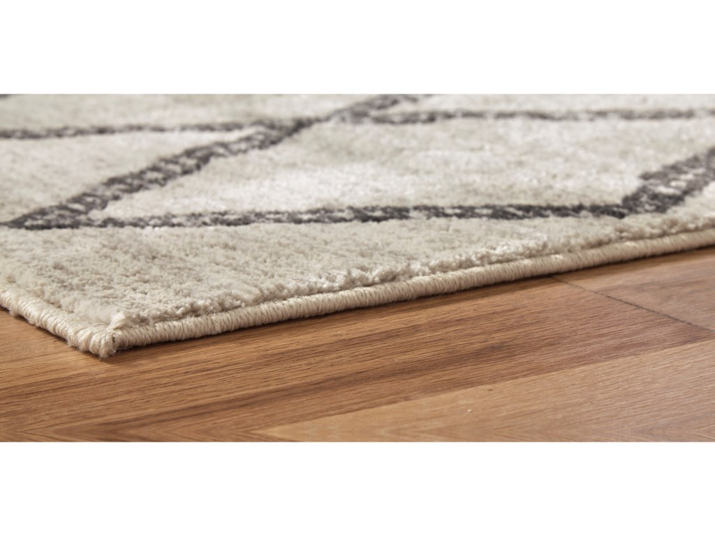 Signature Design by Ashley Casual Area RugsJarmo Gray/Taupe Large Rug