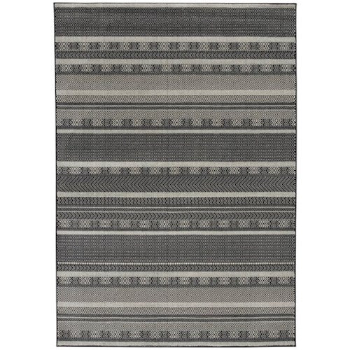 Signature Design by Ashley Casual Area Rugs Jeven Black/Cream Large Rug