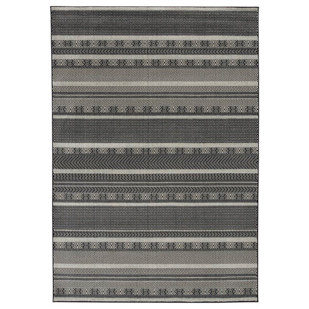 Signature Design By Ashley Casual Area RugsJeven Black/Cream Large Rug ...