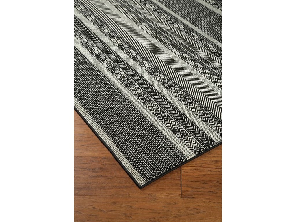 Signature Design by Ashley Casual Area RugsJeven Black/Cream Medium Rug