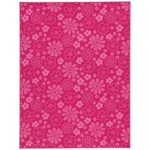 Signature Design by Ashley Casual Area Rugs Jayleen Fuchsia Medium Rug