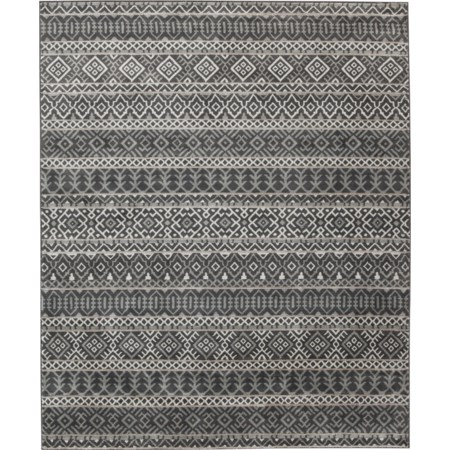Joachim Black/Tan Large Rug