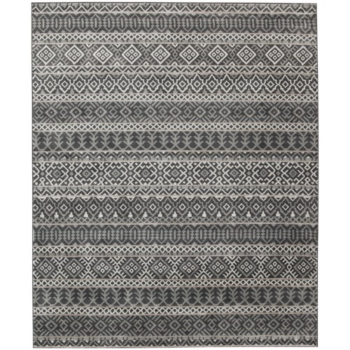 Signature Design by Ashley Casual Area Rugs Joachim Black/Tan Medium Rug