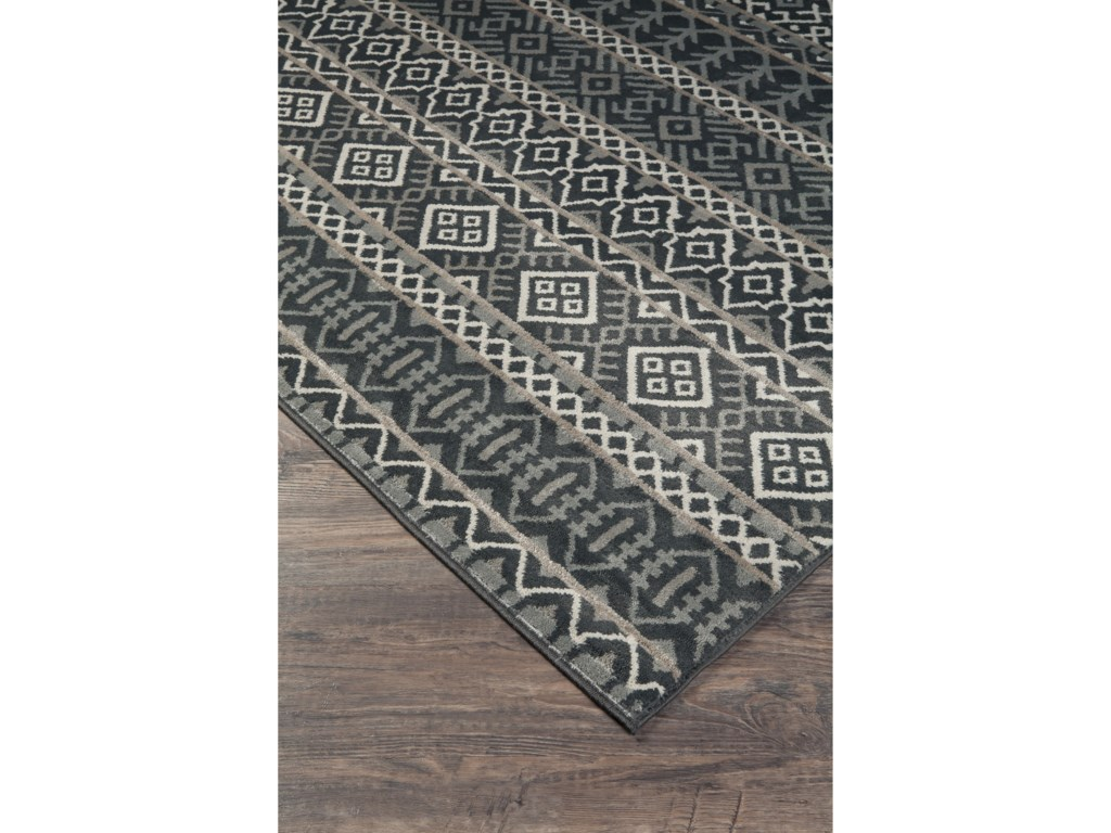 Benchcraft Casual Area RugsJoachim Black/Tan Large Rug