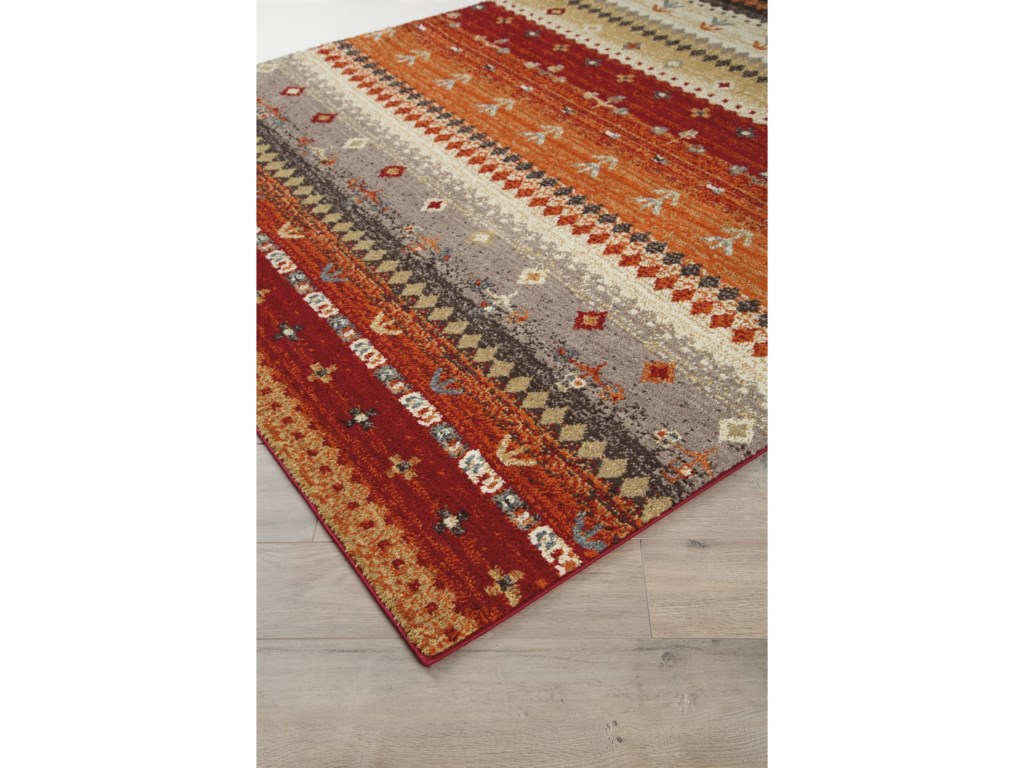 Signature Design by Ashley Casual Area RugsJaide Multi Medium Rug