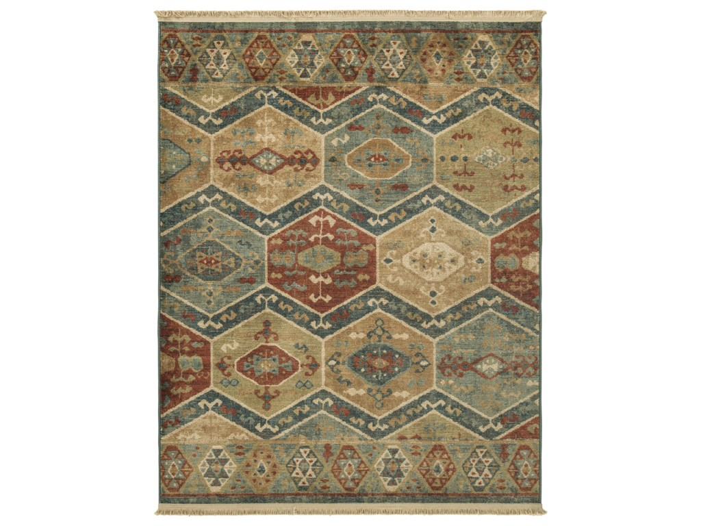 Signature Design by Ashley Casual Area RugsBrooklie Multi Medium Rug