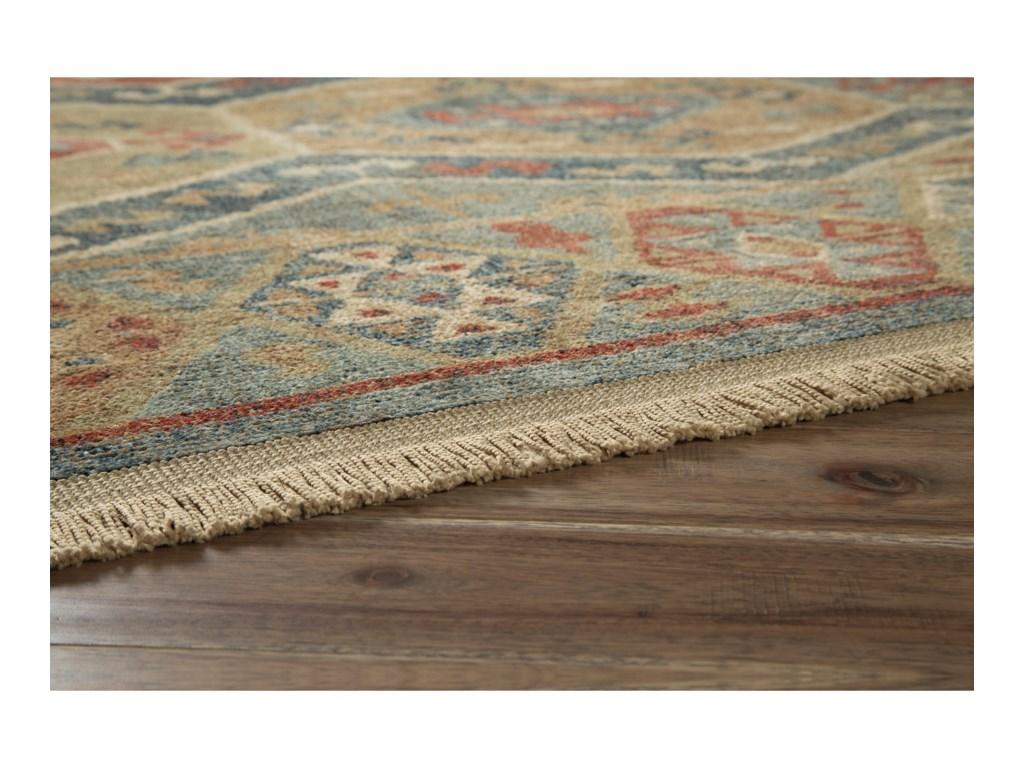 Signature Design by Ashley Casual Area RugsBrooklie Multi Large Rug