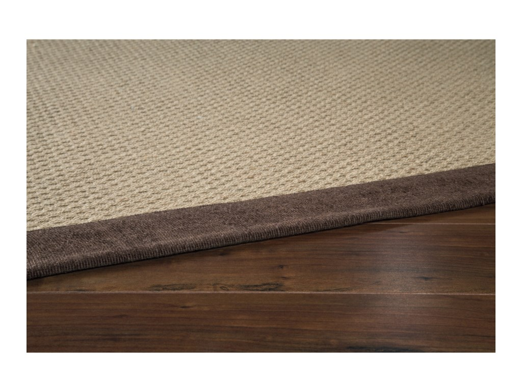 Signature Design by Ashley Casual Area RugsDelta City Beige / Chocolate Large Rug