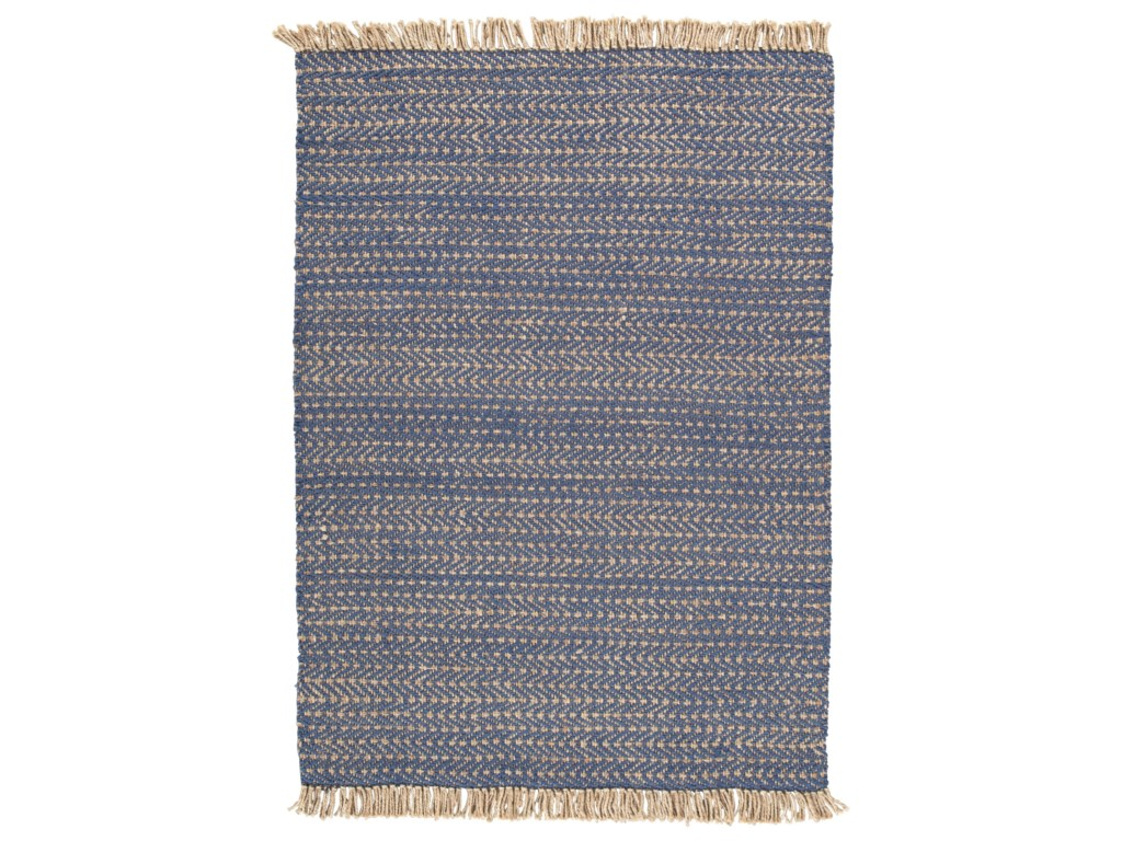 Signature Design by Ashley Casual Area RugsMavis Navy/Natural Medium Rug