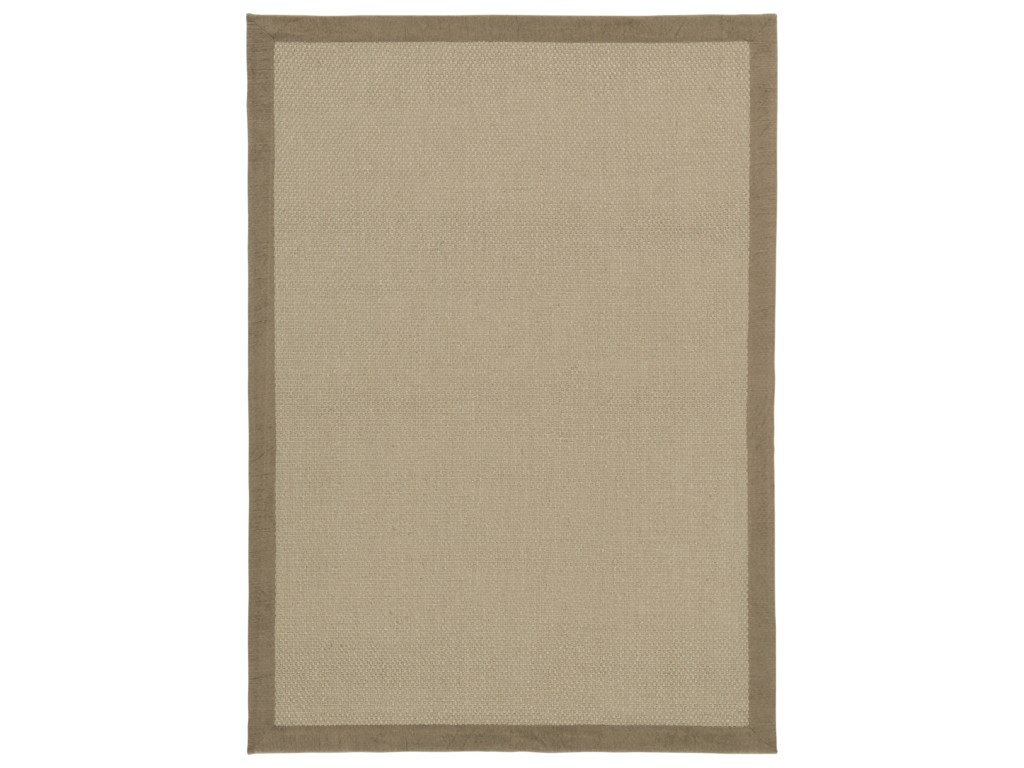 Ashley Signature Design Casual Area RugsDelta City Khaki Medium Rug