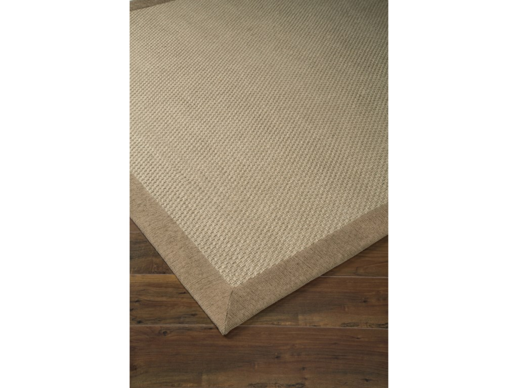 Signature Design by Ashley Casual Area RugsDelta City Khaki Medium Rug