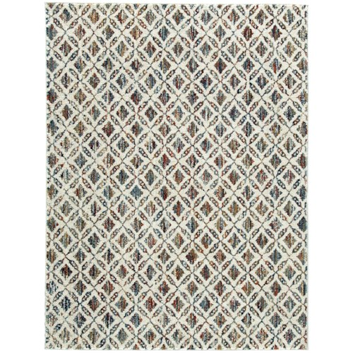 Signature Design by Ashley Casual Area Rugs Viaduct Multi Large Rug
