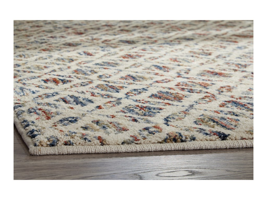 ROOMS # 3 Collection Casual Area RugsViaduct Multi Medium Rug