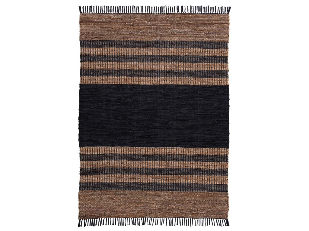Signature Design by Ashley Casual Area RugsZoran Black/Brown Medium Rug