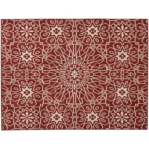 Signature Design by Ashley Casual Area Rugs Cosada Red Medium Rug