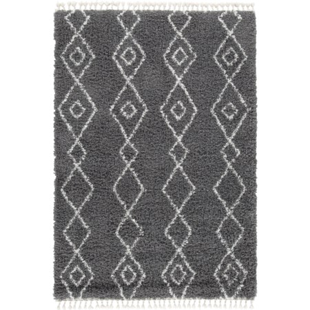 Maysel Gray/Cream Large Rug
