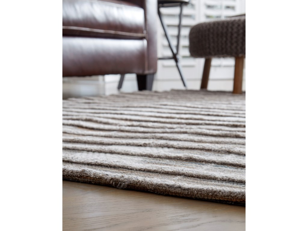 Signature Design by Ashley Casual Area RugsEdrea Brown Large Rug