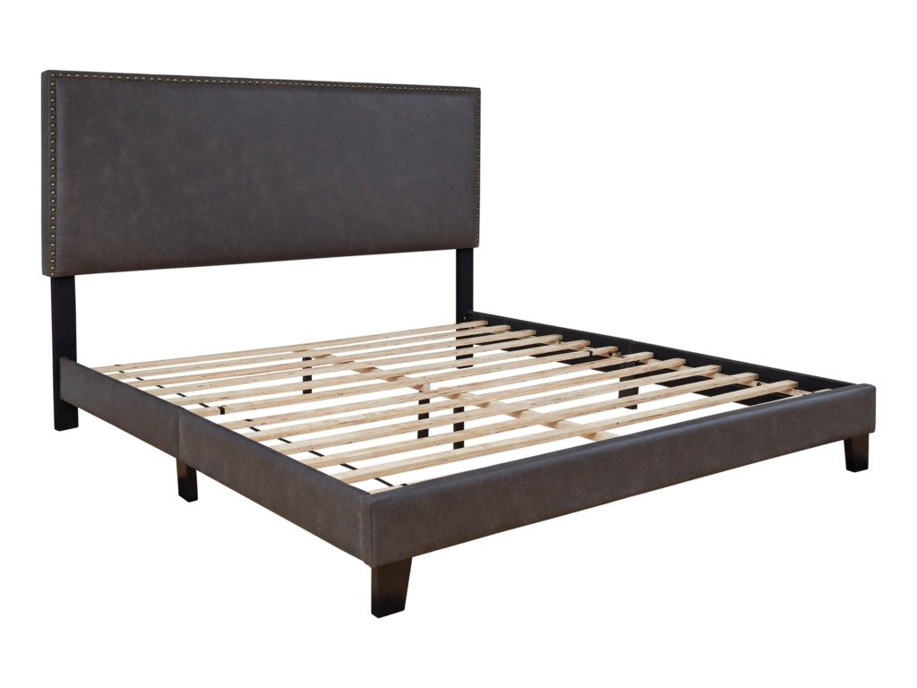 Signature Design by Ashley VintassoKing Upholstered Bed
