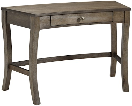Signature Design by Ashley Vintelli Curved Home Office Desk with Drawer