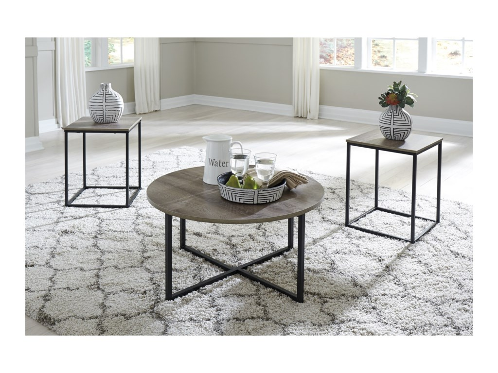 Signature Design by Ashley Wadeworth3-Piece Occasional Table Set