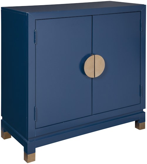 Signature Design by Ashley Walentin Contemporary Accent Cabinet