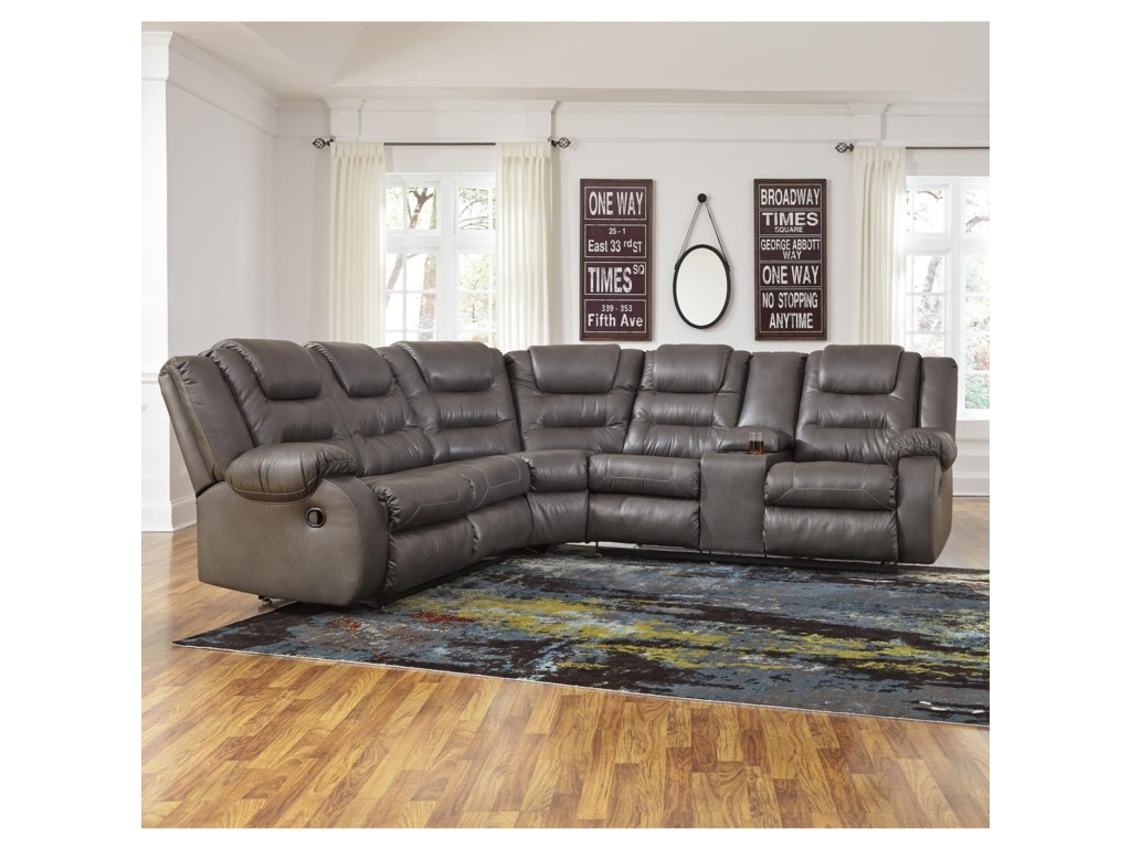by height width ashley piece threshold design signature trim with item alyssa left sectional charcoal products loveseat
