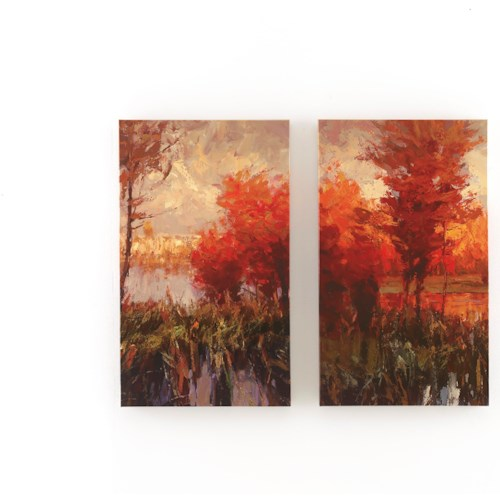 Signature Design by Ashley Wall Art Andie (Multi) - Wall Art Set