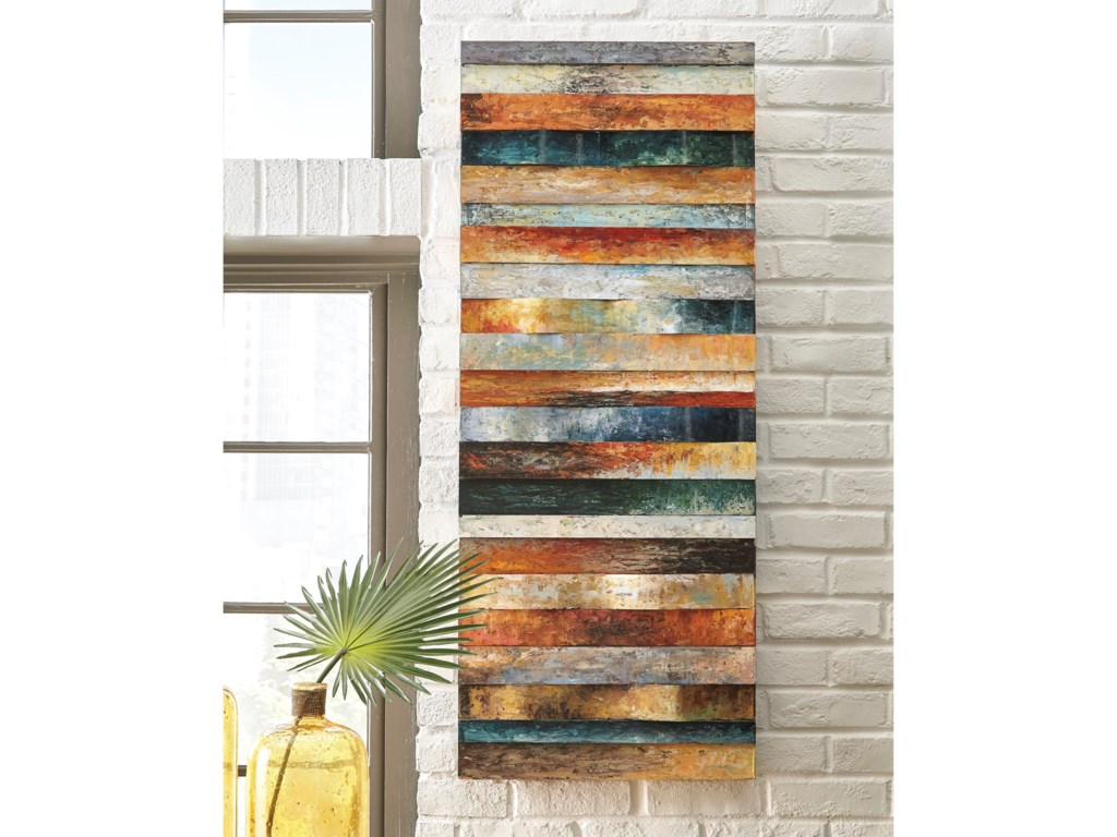 Signature Design by Ashley Wall ArtOdiana Multi Wall Decor