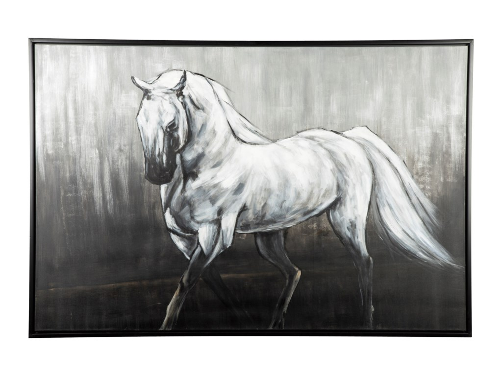 Signature Design by Ashley Wall ArtVictor White/Black Wall Art