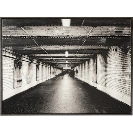 Param Black/White Wall Art