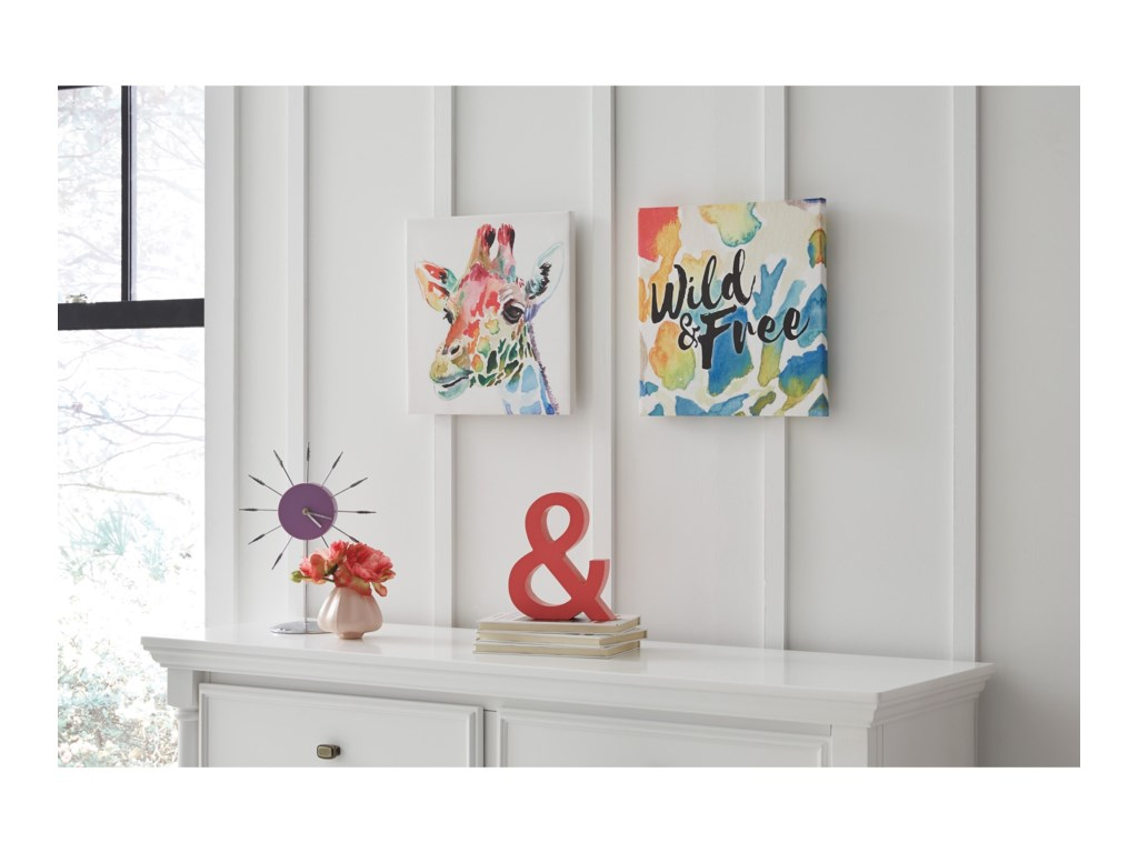 Signature Design by Ashley Wall ArtPriya Wall Art Set