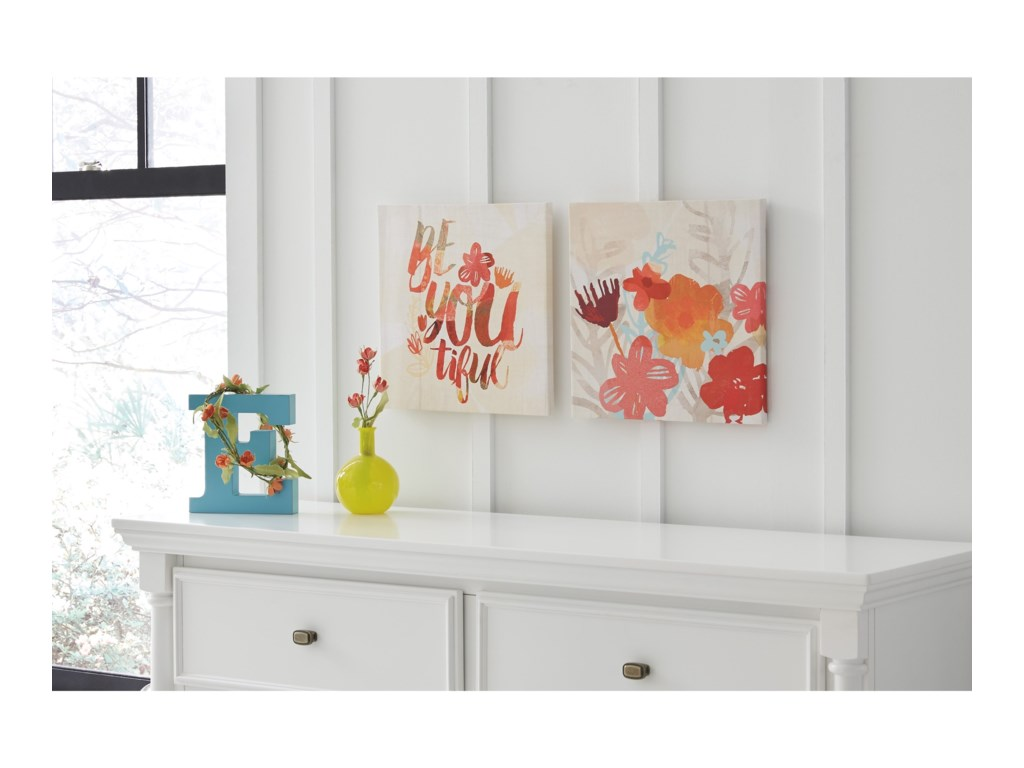 Signature Design by Ashley Wall ArtPatli Wall Art Set