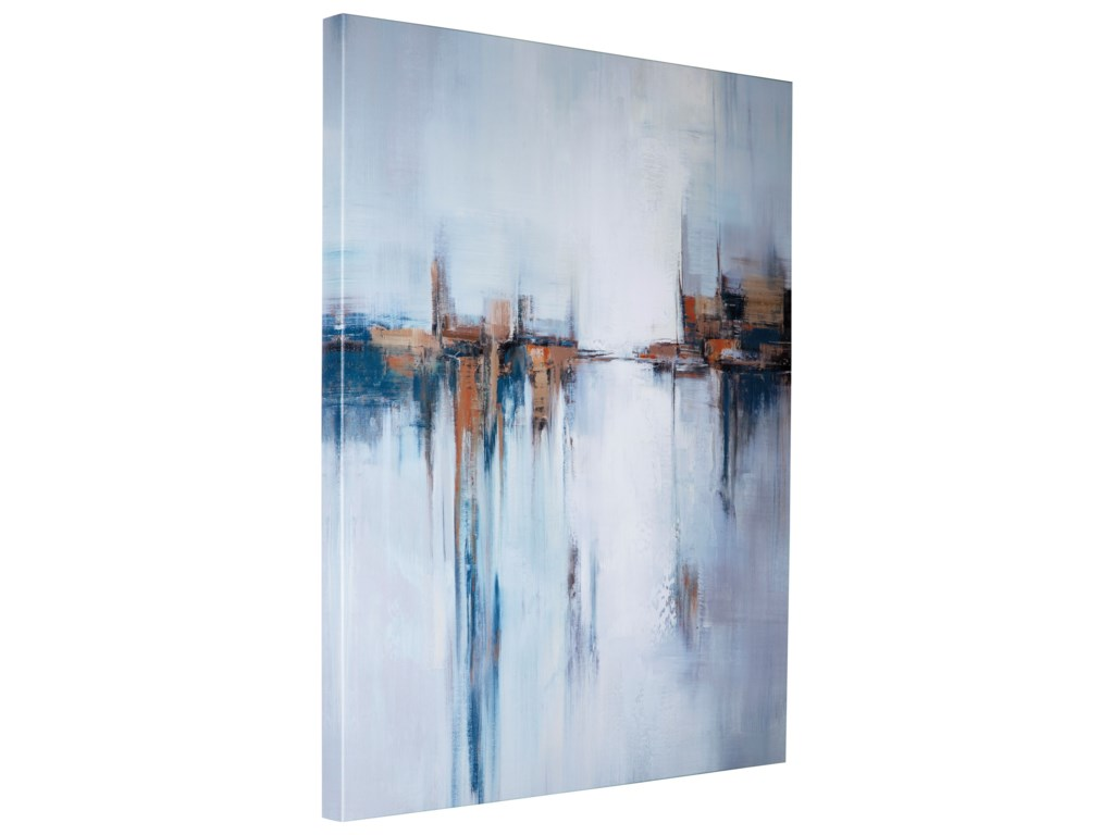 Signature Design by Ashley Wall ArtBraylin Blue Wall Art